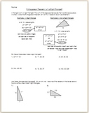 Pythagorean Theoream: Is It A Right Triangle?