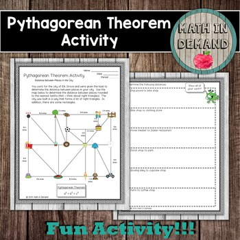 Math in demand teaching resources teachers pay teachers pythagorean theorem ccuart Choice Image