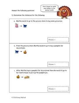 Pythagorean Theorem Activity (Thanksgiving Edition) by ...
