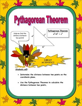 Pythagorean Theorem Activity (Thanksgiving Edition)