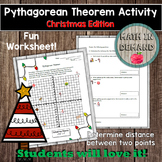 Pythagorean Theorem Activity (Christmas Edition)