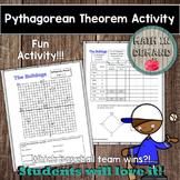 Pythagorean Theorem Baseball Activity