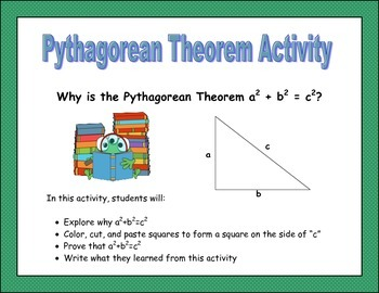 Pythagorean Theorem Activity (Proving the Pythagorean Theorem)