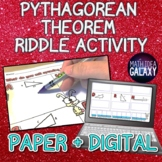 Pythagorean Theorem Activity (Riddle)