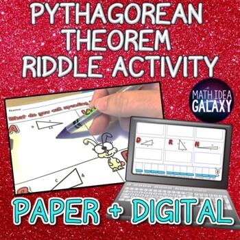 Pythagorean Theorem Activity (Riddle)