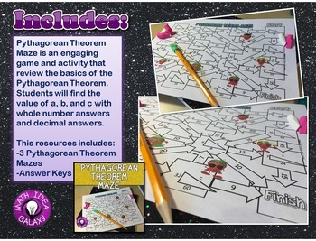 Pythagorean Theorem Activities Pack