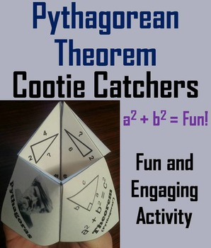 Pythagorean Theorem Practice Activity for 6th, 7th, 8th, 9th, 10th Grade