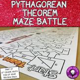 Pythagorean Theorem Game - Maze Battle
