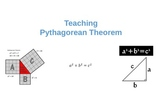 Pythagorean Theorem 7th-8th Grade introduction