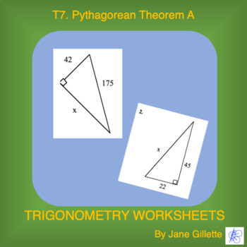 Pythagorean Theorem A
