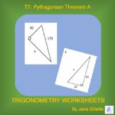 Pythagorean Theorem A