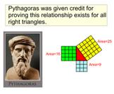 Pythagorean Theorem, An Introduction and 6 Assignments for SMART Notebook