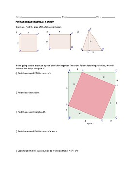 Pythagorean Theorem: A Proof