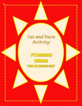 Pythagorean Theorem Activity