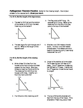 Pythagorean Theorem Activity - Candy