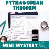 Pythagorean Theorem Activity! Murder Mystery! Includes Digital Version!