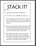 Pythagorean Theorem Activity - Stack It!