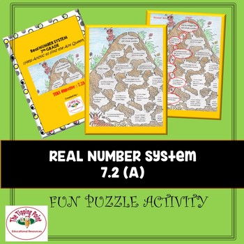 7.2A Puzzle Game Describing relationships between sets of rational numbers.