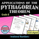 Pythagorean Theorem Applications Worksheet