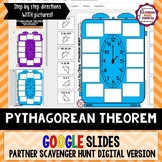 Pythagorean Theorem Around the Clock Partner Scavenger Hun