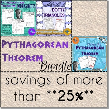 Pythagorean Theorem ** BUNDLE **