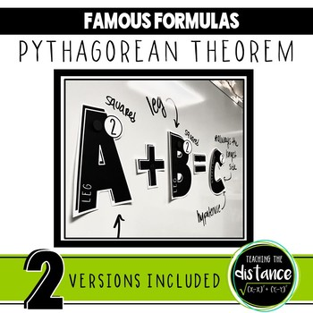 Pythagorean Theorem Banner