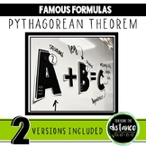 Pythagorean Theorem Banner