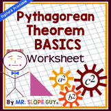 Pythagorean Theorem Activity Basics Geometry Worksheet