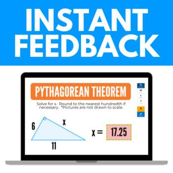 Pythagorean Theorem Boom Cards