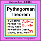 PYTHAGOREAN THEOREM:  ACTIVITY BUNDLE
