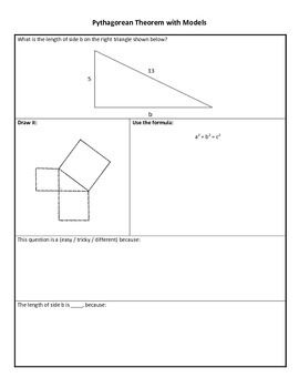 Pythagorean Theorem Bundle