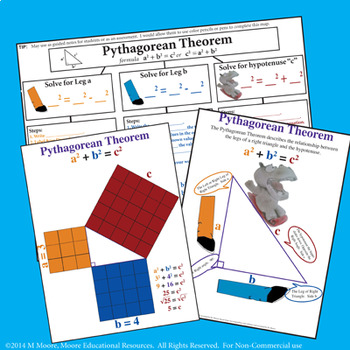 Pythagorean Theorem BUNDLE with REAL WORLD word problems!
