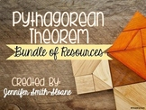 Pythagorean Theorem Bundle of Resources
