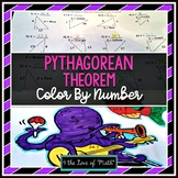 Pythagorean Theorem: Color By Number (CC 8.G.8)