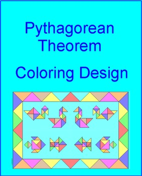 Pythagorean Theorem - Coloring Design