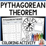 Pythagorean Theorem Coloring Activity: 8.G.7