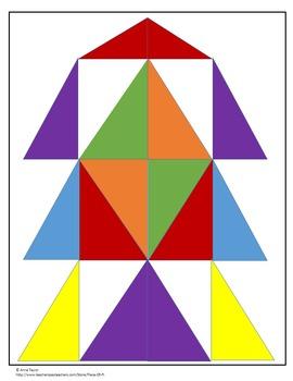 Pythagorean Theorem Converse Coloring Geometric Design Test Prep Sub Plans