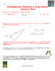 Pythagorean Theorem & Cube Root Practice Test