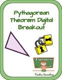 Pythagorean Theorem Digital Breakout