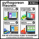 Pythagorean Theorem - Digital Math Activities (Distance Le