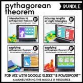 Pythagorean Theorem Digital Math Activity Bundle | 8th Grade Math
