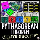 Pythagorean Theorem Digital Math Escape Room