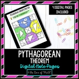 Pythagorean Theorem Digital Note Pages