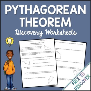 Pythagorean Theorem Discovery Worksheets