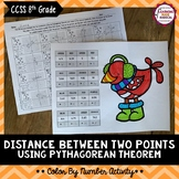 Pythagorean Theorem - Distance Between Two Points