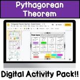 Pythagorean Theorem Digital Activity!