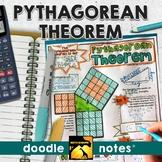 Pythagorean Theorem Doodle Notes
