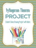 Pythagorean Theorem FREE Drawing Project / Assignment with Rubric