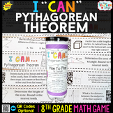 8th Grade Pythagorean Theorem Game