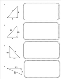 Pythagorean Theorem Excercise Problems